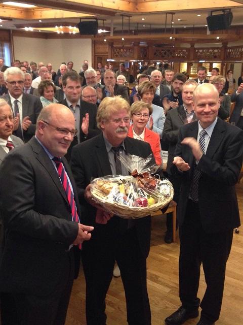 Steffen Kampeter MdB, Elmar Brok MdEP und Ralph Brinkhaus MdB