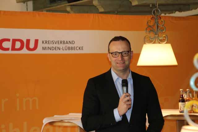 Parlamentarischer Staatssekretär beim Bundesminister der Finanzen Jens Spahn MdB beim medizinischen Fachgespräch in der Kurklinik HolsingVital in Bad Holzhausen