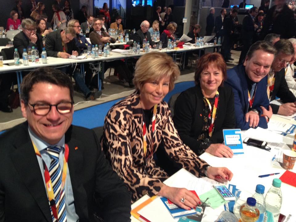 Delegierte der CDU im Mühlenkreis: Dr. Oliver Vogt; Kirstin Korte MdL, Bianca Winkelmann MdL