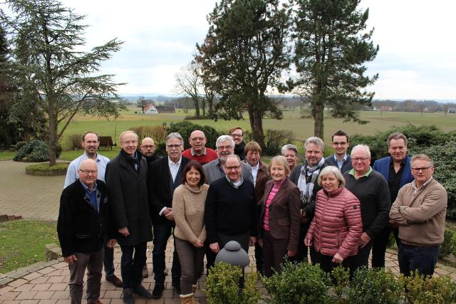 Teilnehmerinnen und Teilnehmer der CDU-Kreistagsfraktion an der Klausurtagung in Stemwede