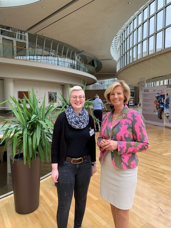 Lisa-Marie Kruse und Kirstin Korte MdL und CDU Kreisvorsitzende
