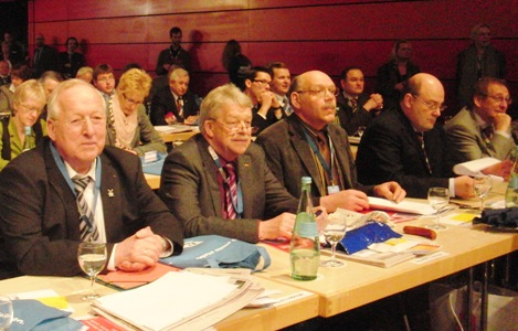 Delegierte der Mühlenkreis-CDU bei der Beratung.